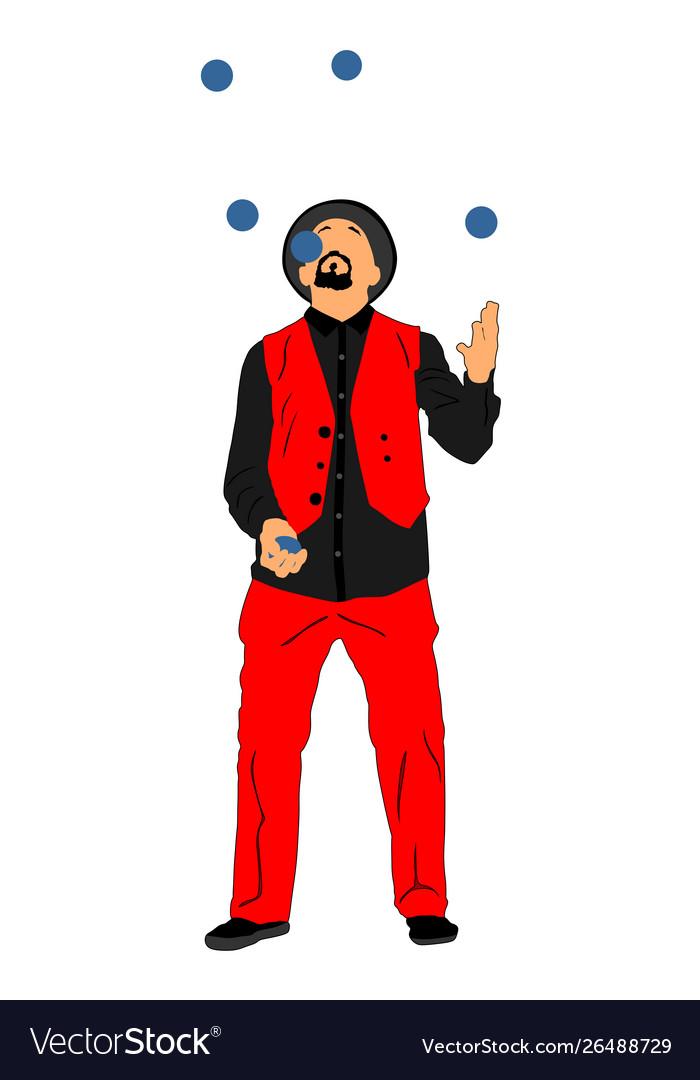 Happy Juggler Stock Illustrations – 1,494 Happy Juggler Stock  Illustrations, Vectors & Clipart - Dreamstime