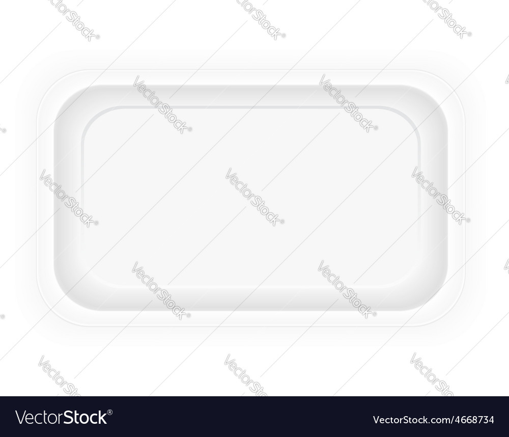 Food container 01 vector image