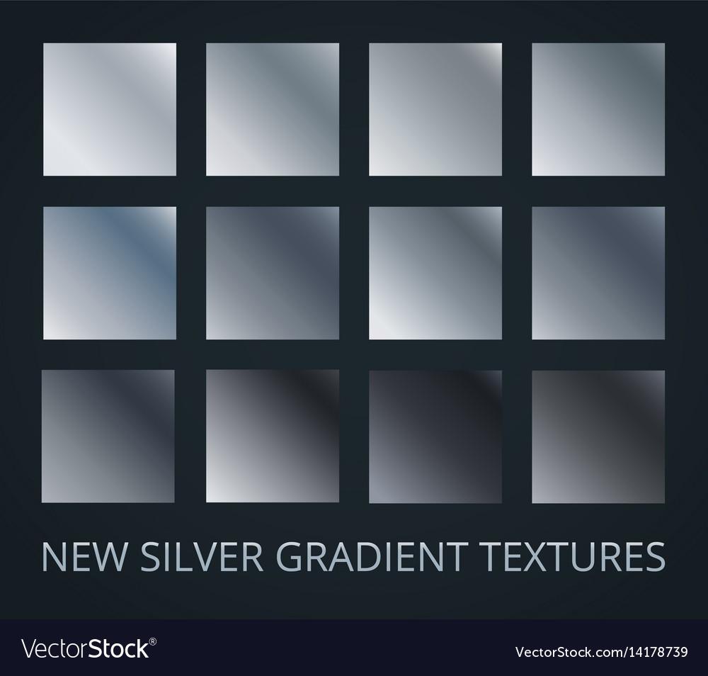 Set of silver diagonal gradients on darl