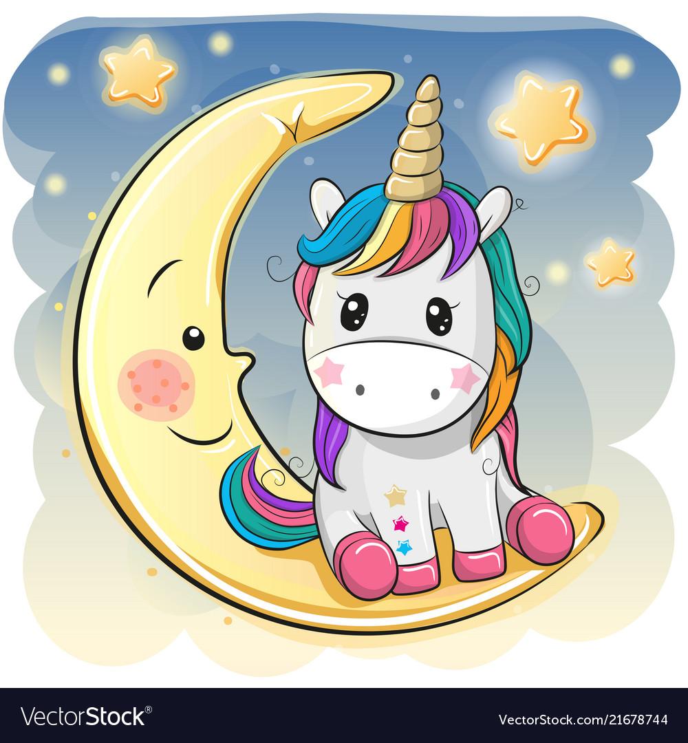 cute unicorn cartoon - HD1000×1080
