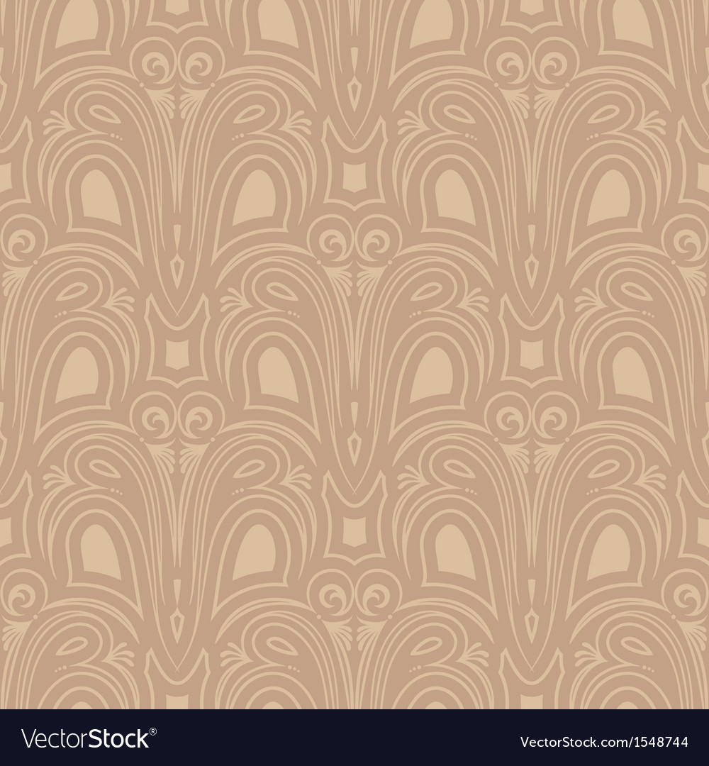Old style seamless background vector image