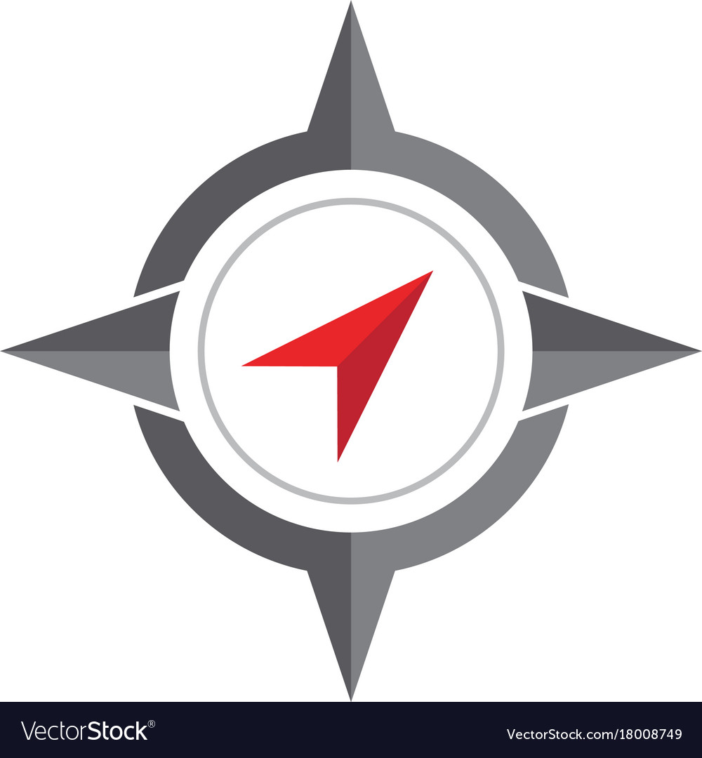 compass logo template royalty free vector image