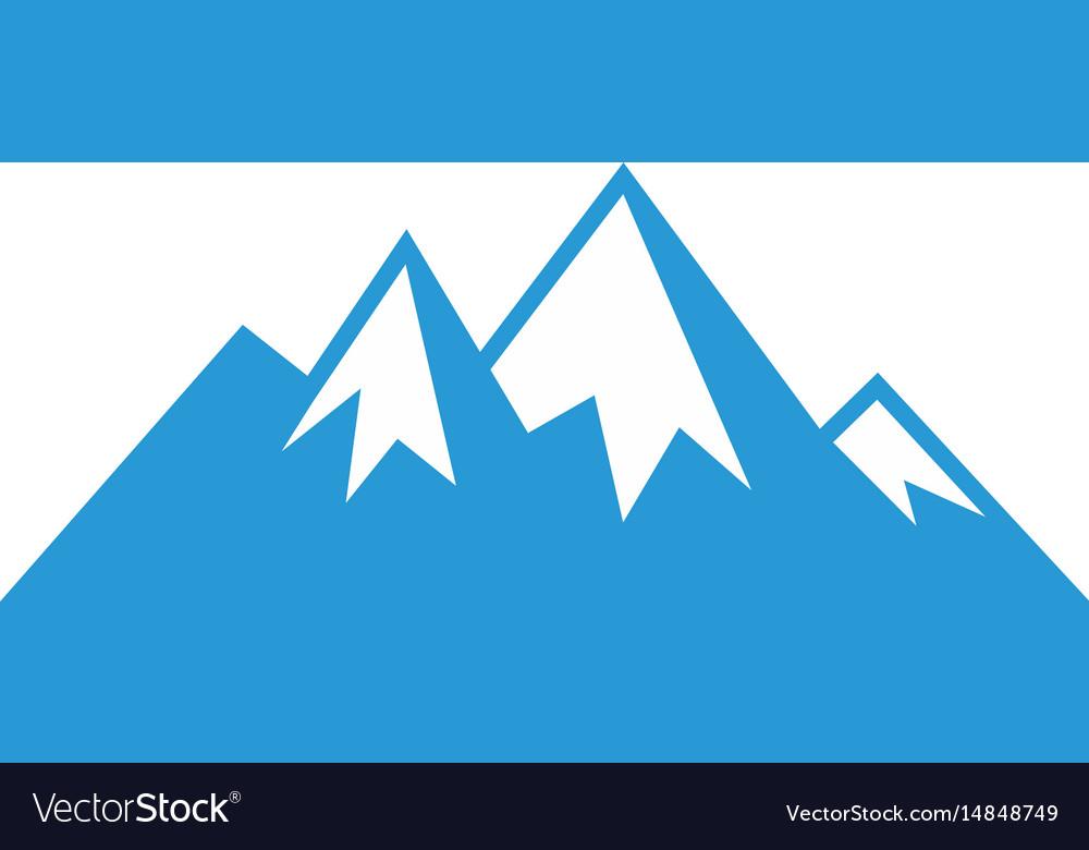 Mountain sign logo image image