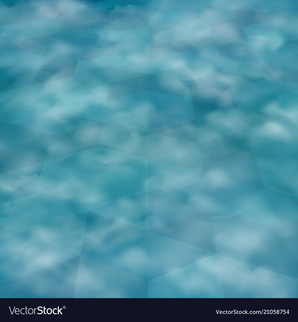 Abstract of perspective background of blue
