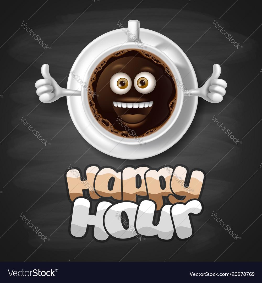 Happy hour design template