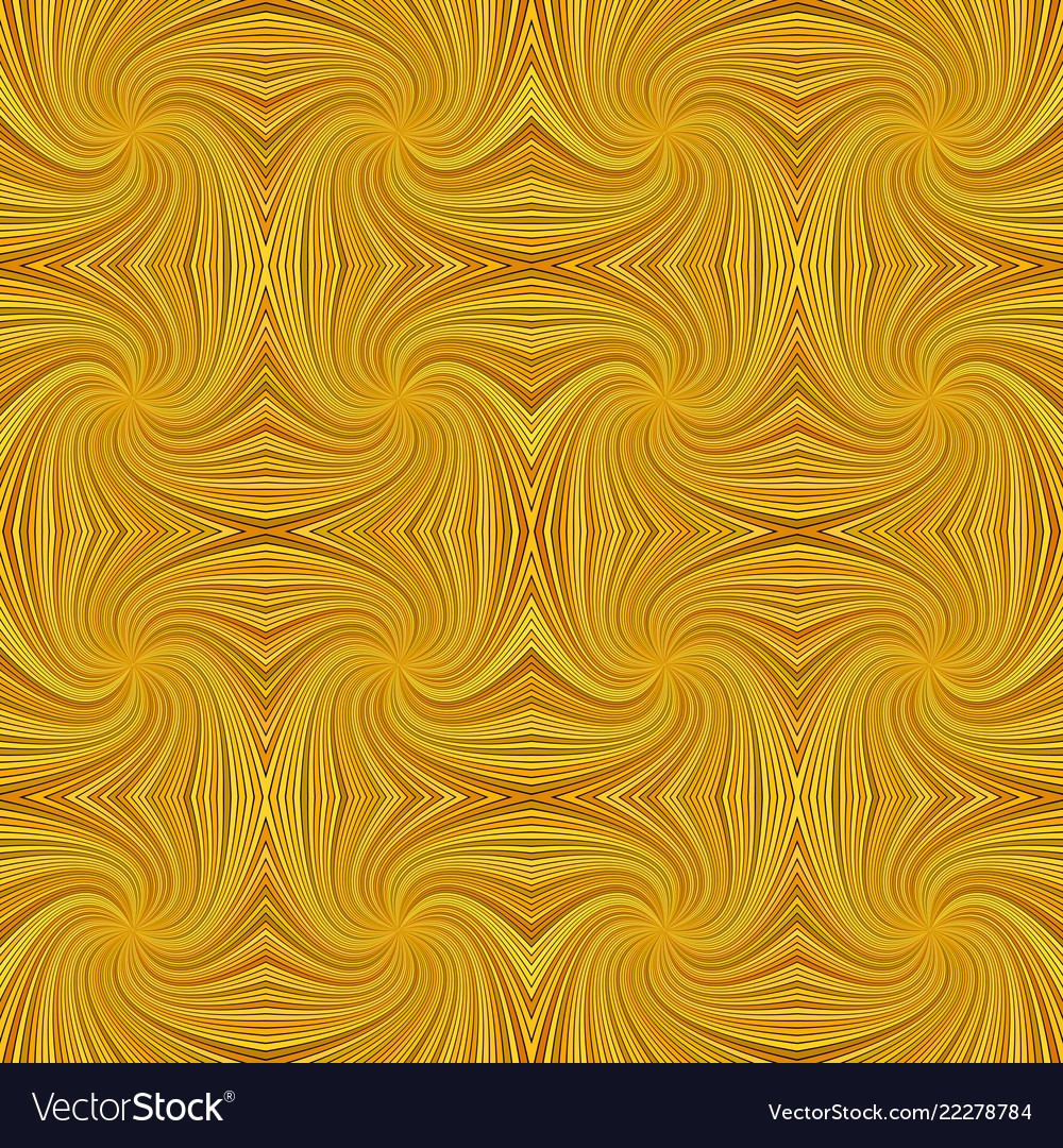 Orange seamless psychedelic abstract swirl stripe