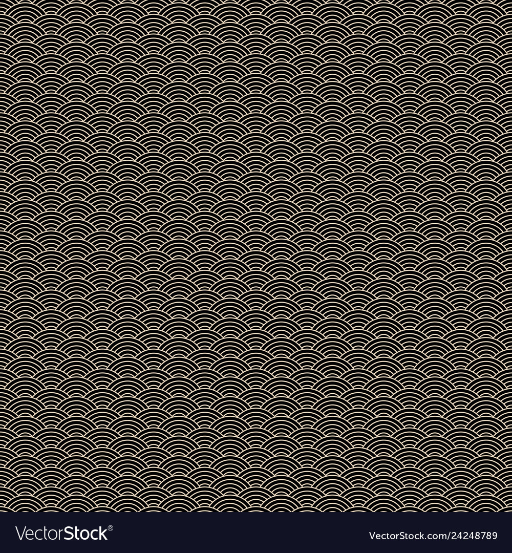 Chinese classic seamless pattern with golden