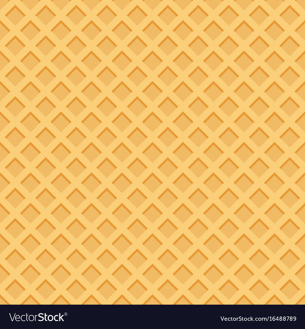 Ice cream pattern wafl...