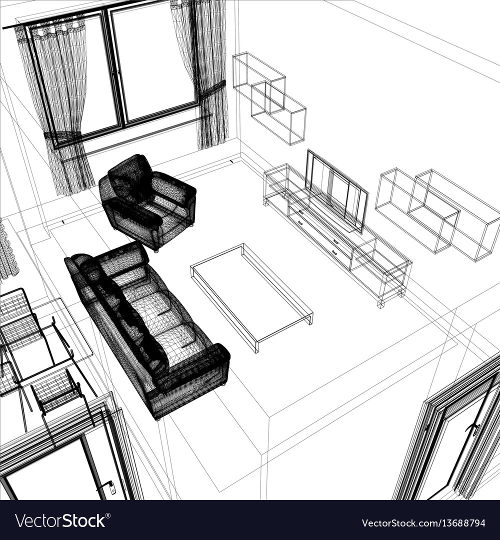 Layout apartment