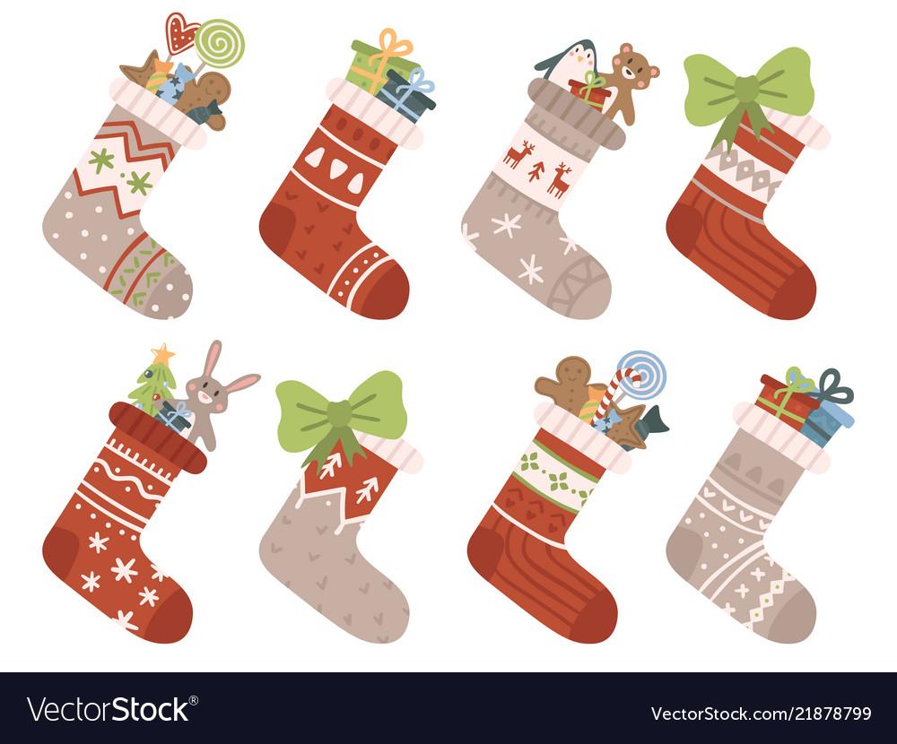 Christmas socks xmas stocking or sock