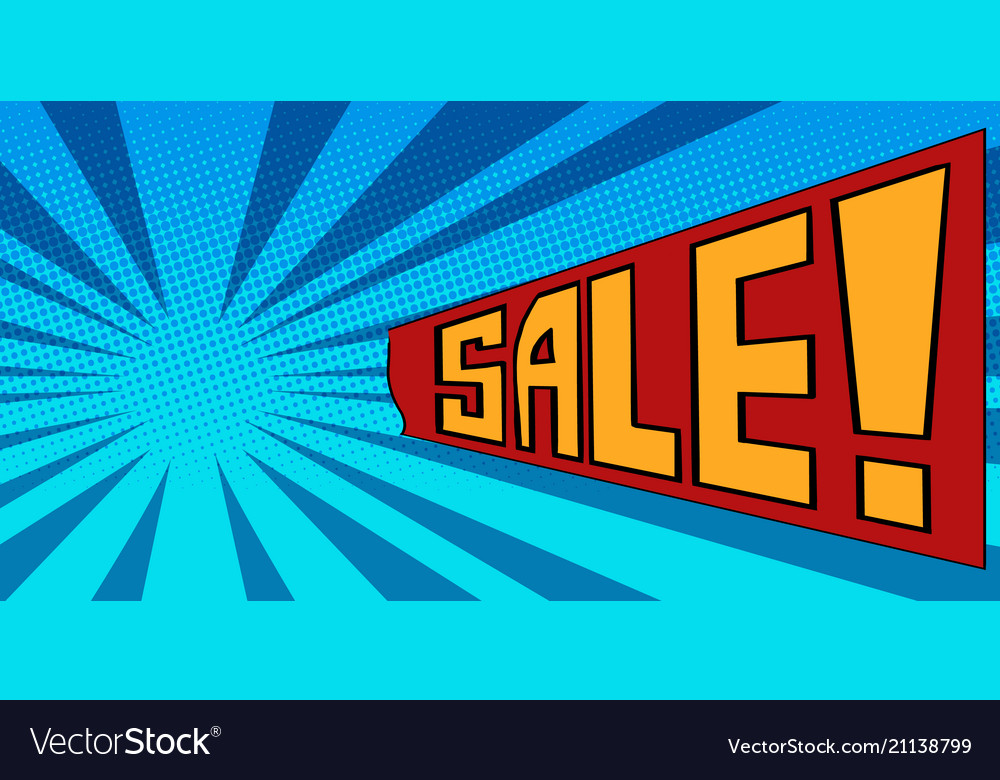 Pop art background sale