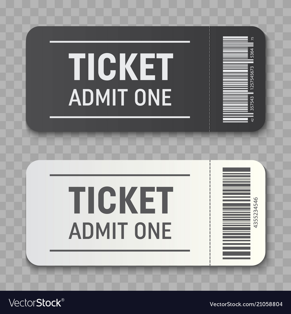 Creative of empty ticket