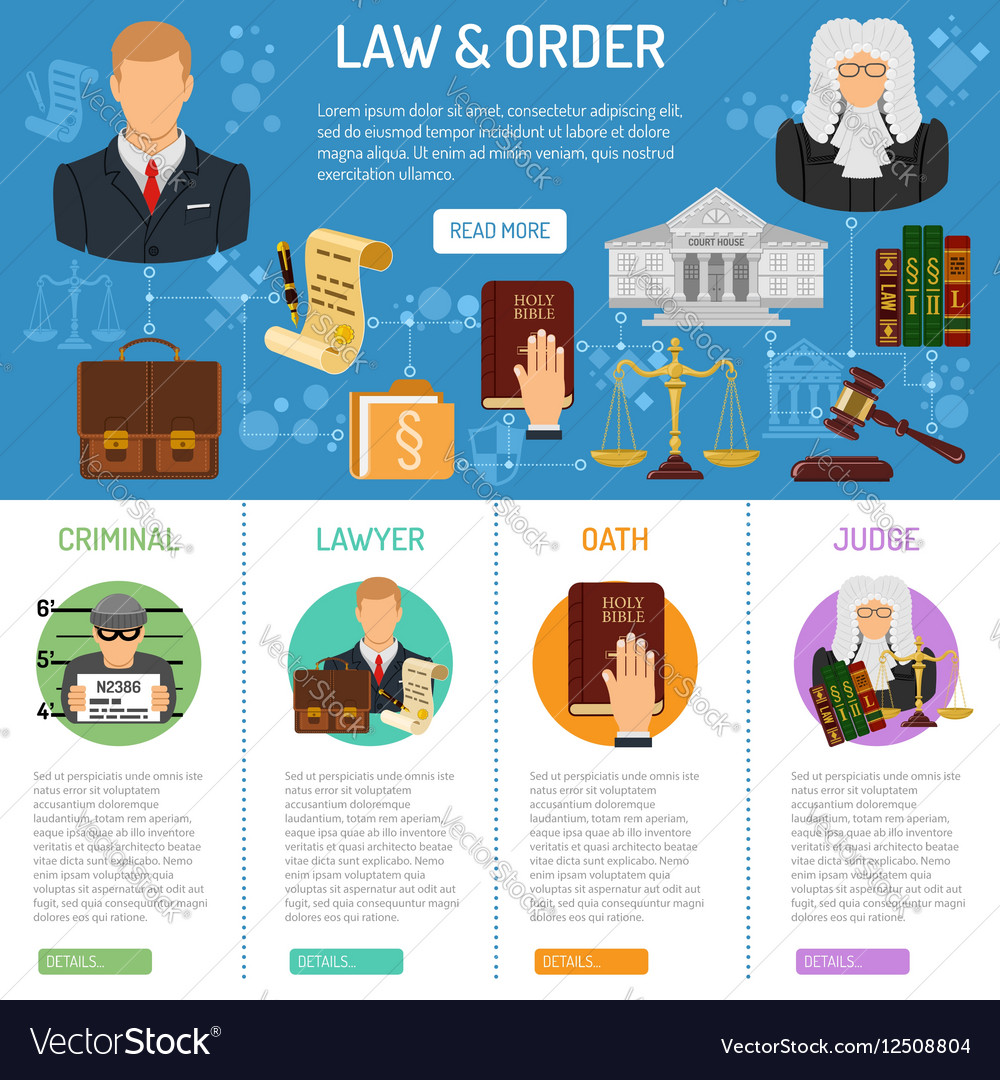 law-and-order-infographics-vector-125088