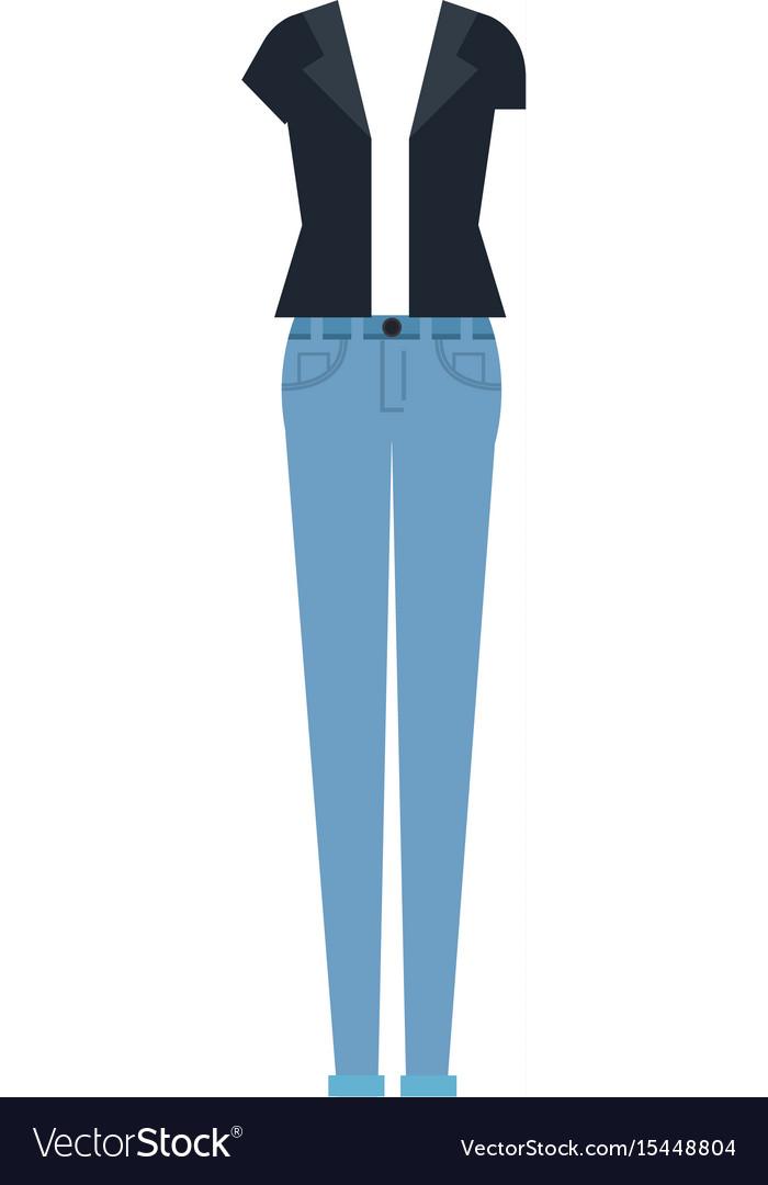 Women casual clothes icon