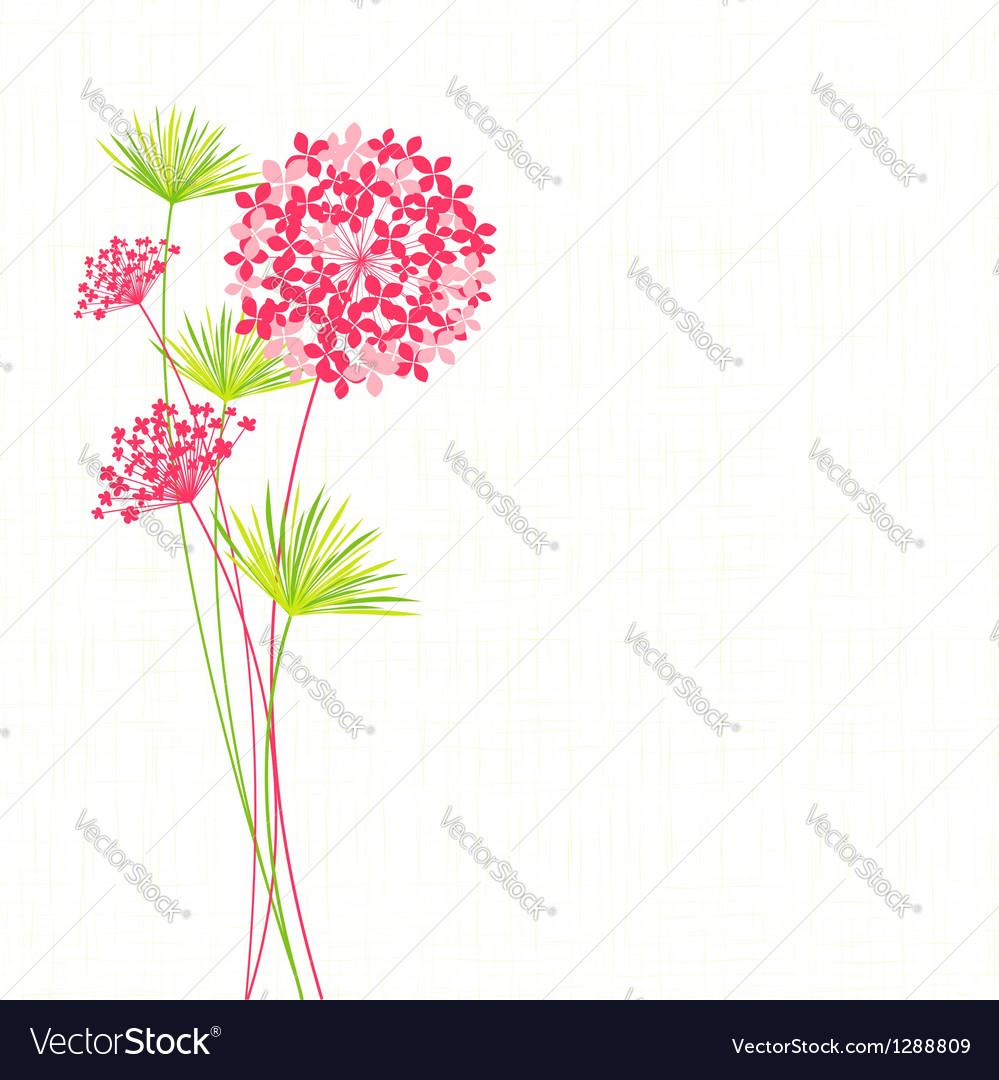Springtime Hydrangea Flower