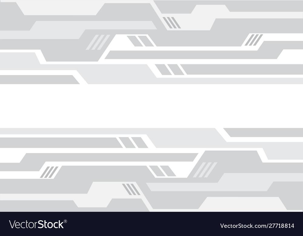 Abstract soft grey tone geometric circuit pattern