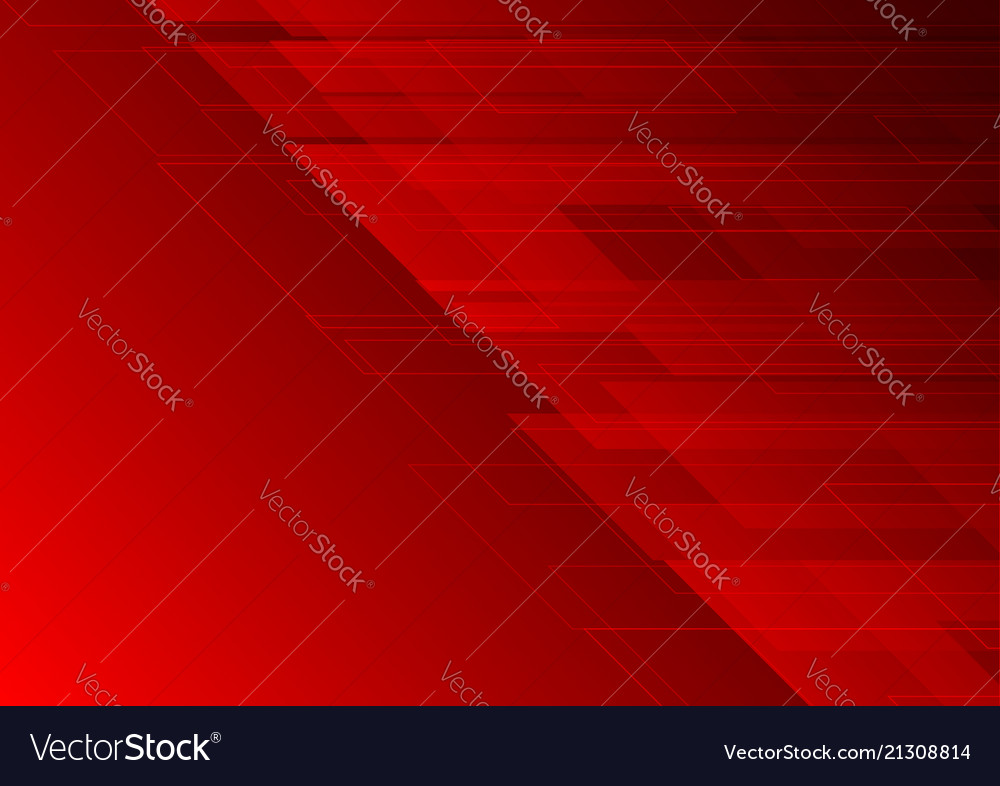 Geometric Dark Red Color Abstract Background