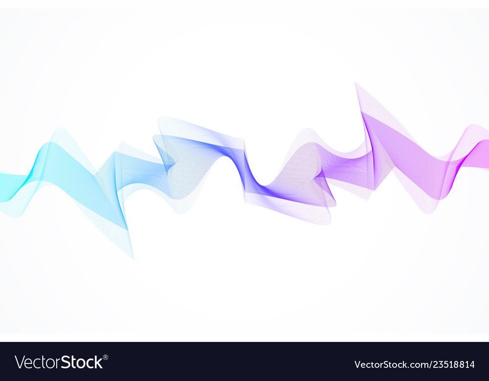 Motion Sound Wave Abstract Background