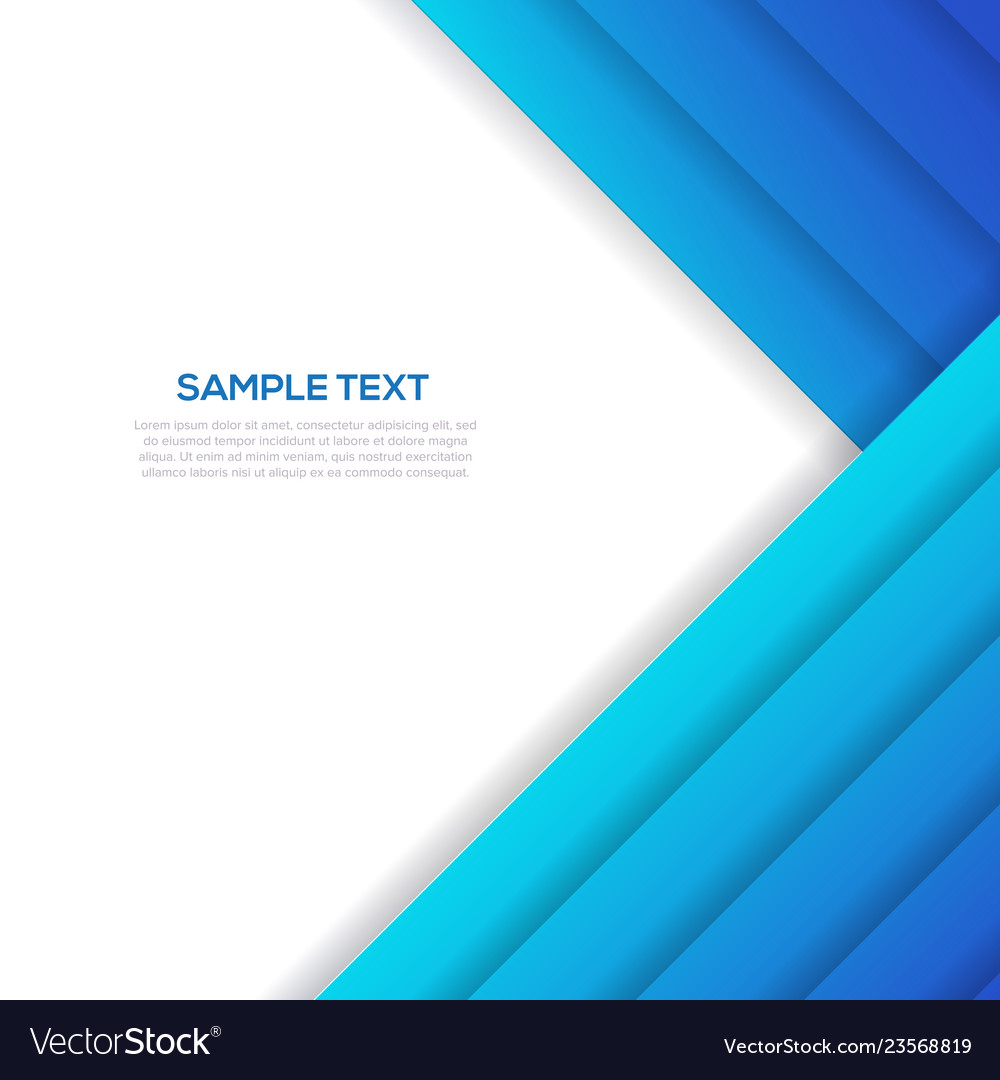 Abstract blue business background template