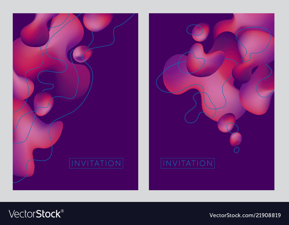 Abstract pink wave fluid creative fantasy pattern