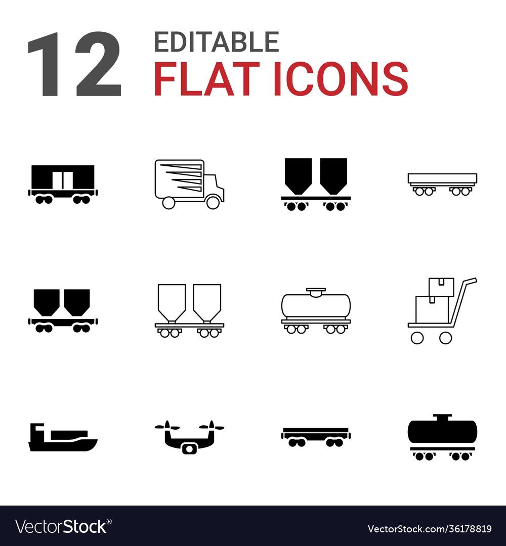 Shipment icons