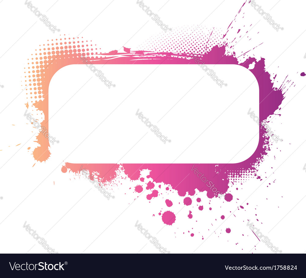 Grunge colorful banner vector image