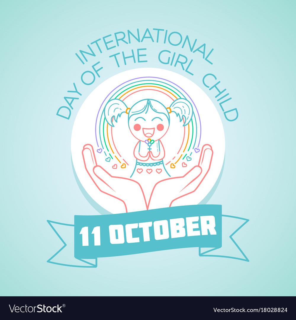 October international day of the girl child