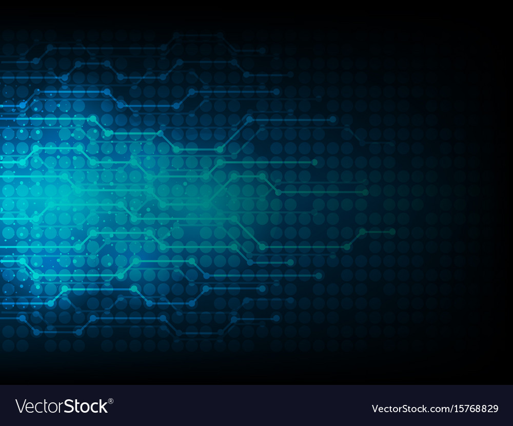 Abstract technology background connection vector image