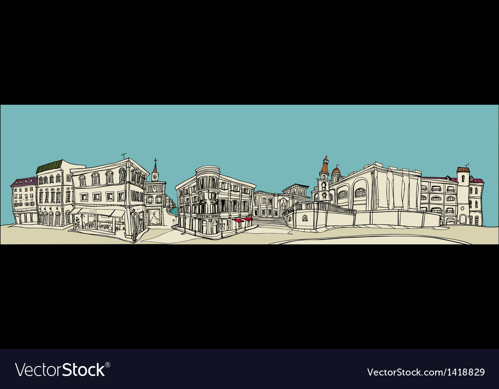 Townscape Sketch