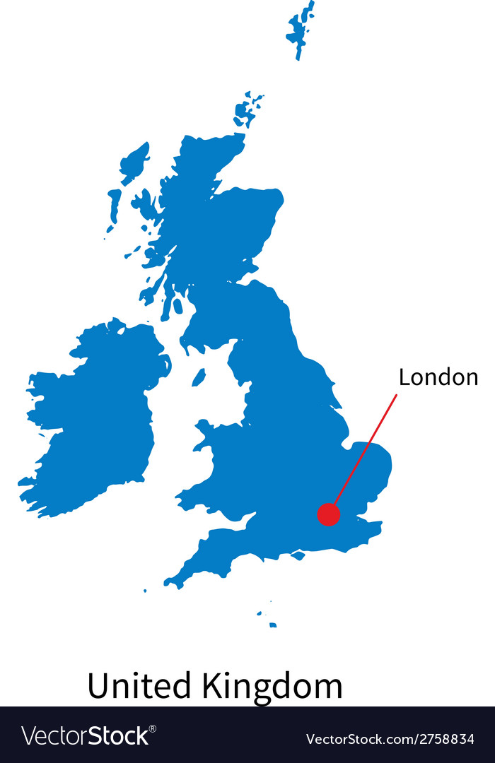 Map Of Uk Detailed.Detailed Map Of United Kingdom And Capital City