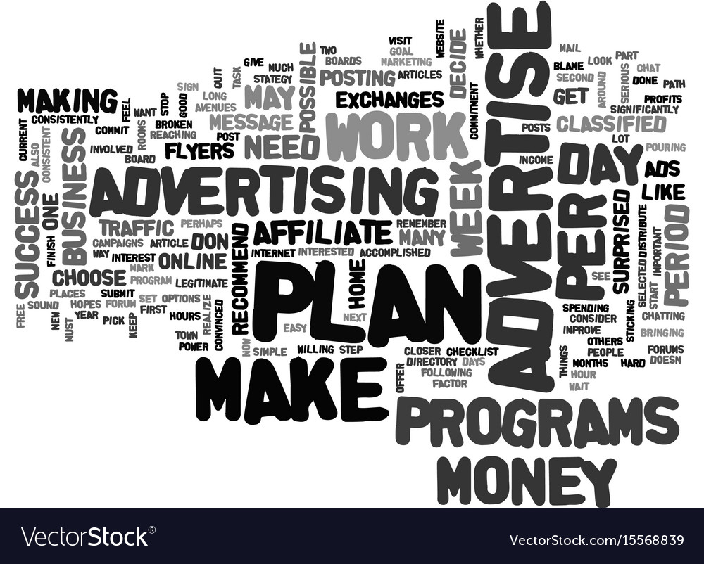 Advertise advertise advertise text word cloud