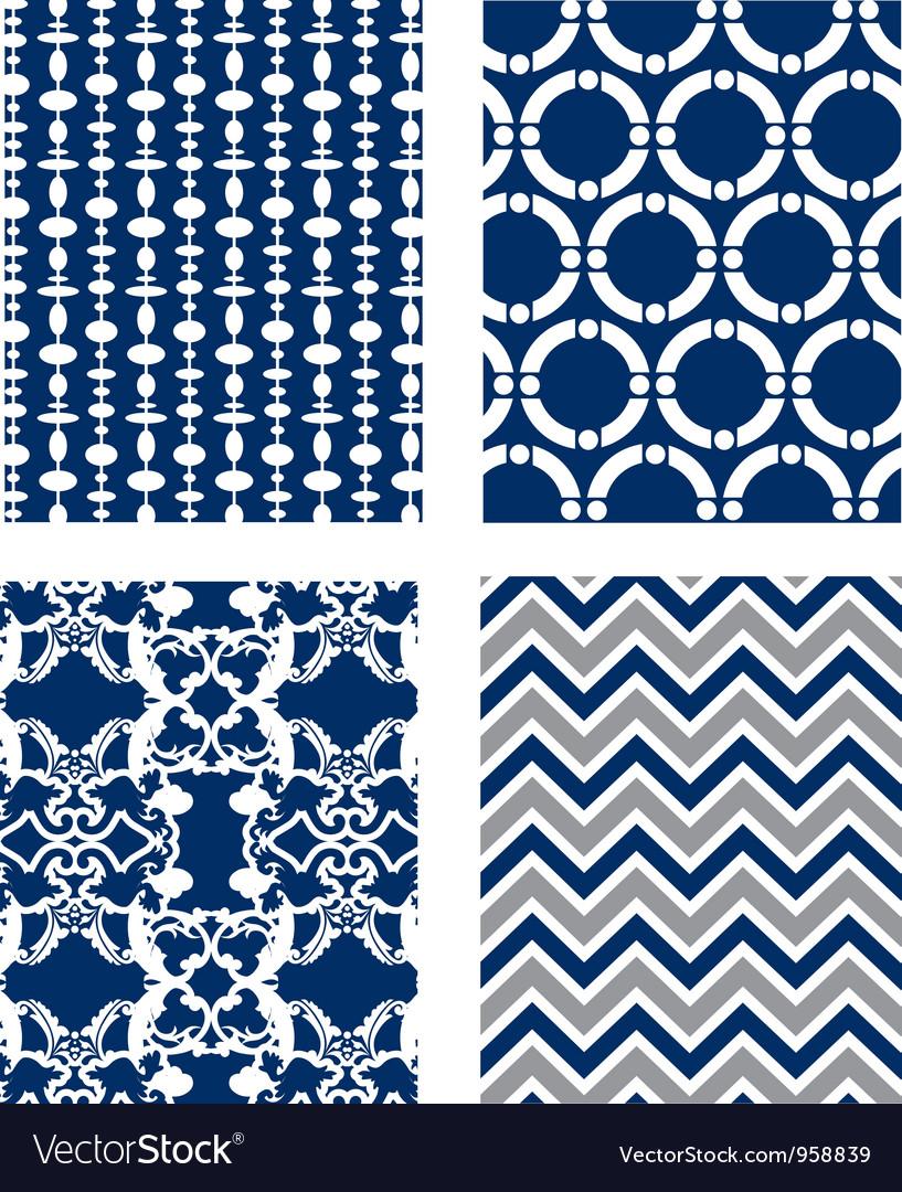Backgrounds set Pattern Wallpaper
