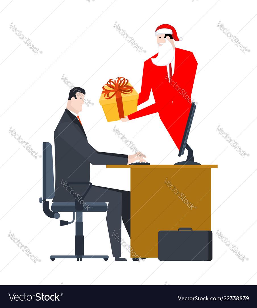 Online santa claus congratulations christmas in