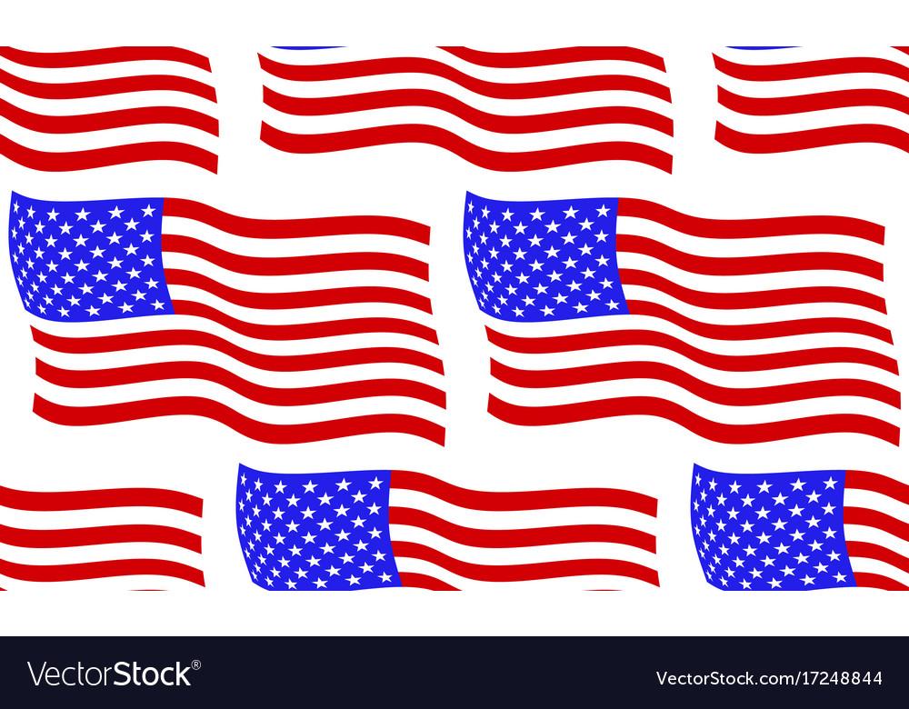 Flag of usa pattern