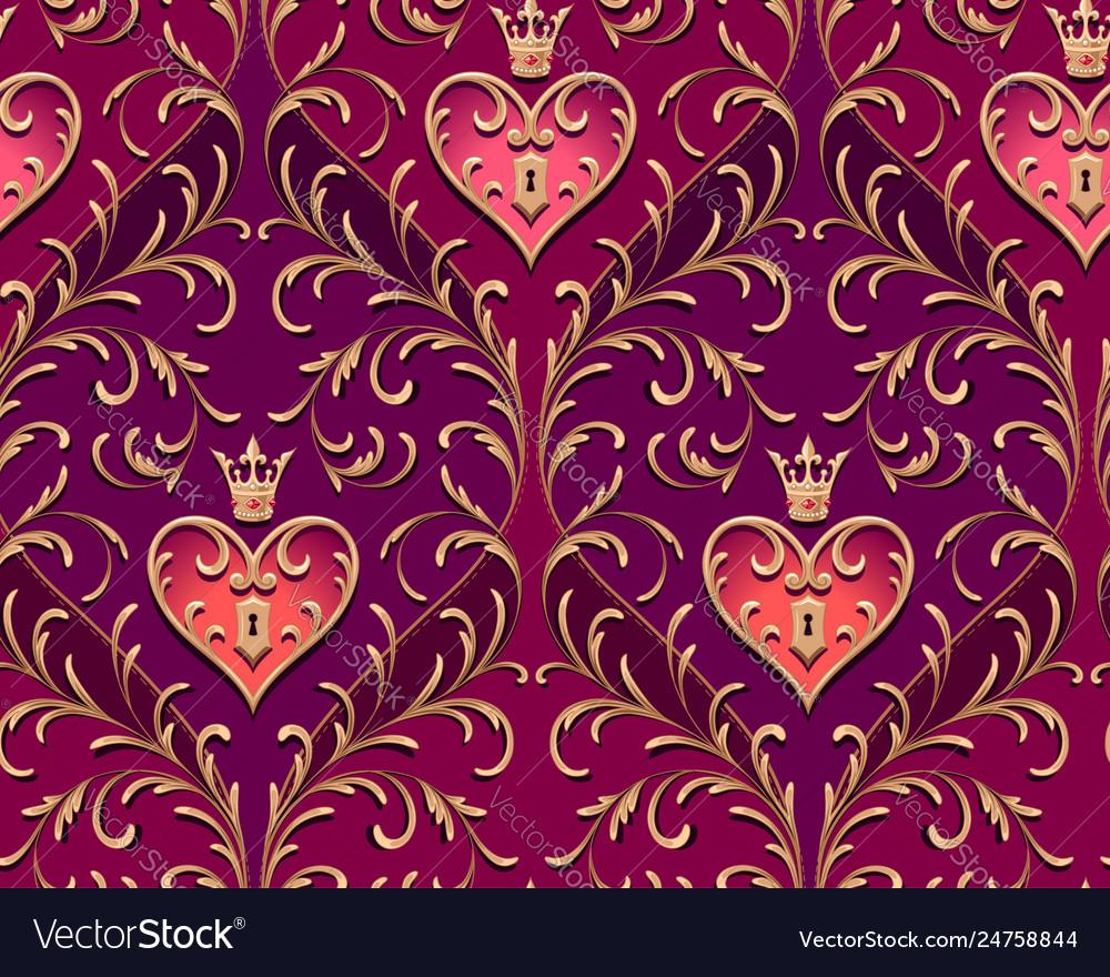 Royal padlock pattern