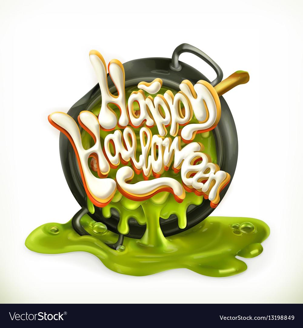 Happy Halloween 3d icon