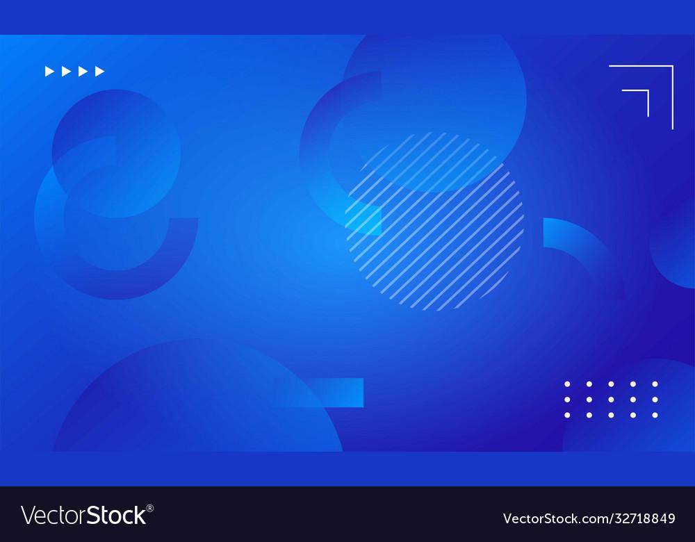 Liquid gradient shapes composition background
