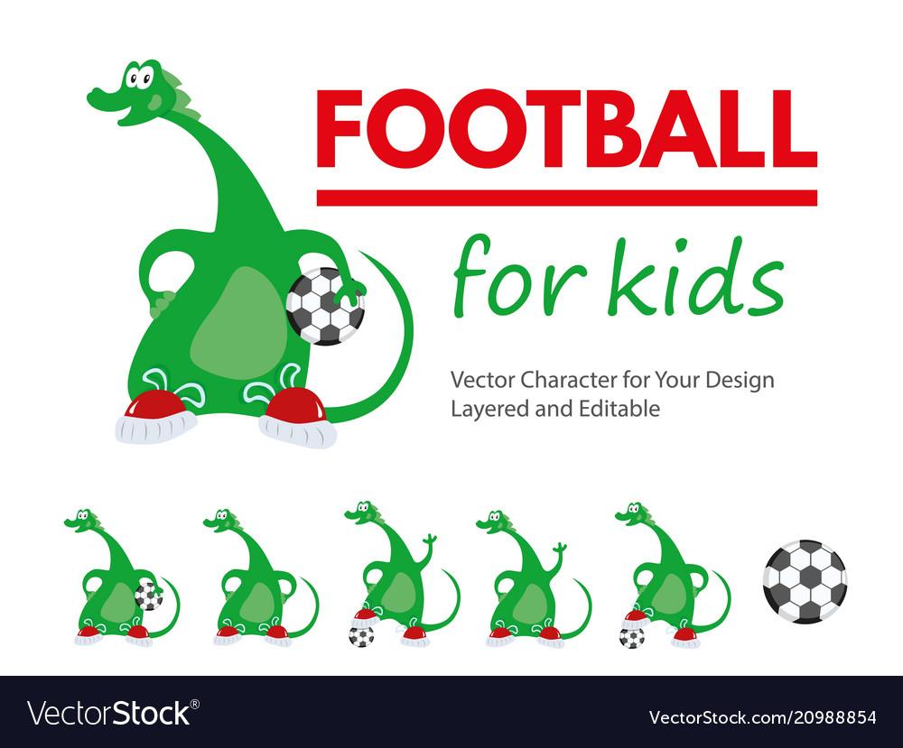 Football for kids cartoon