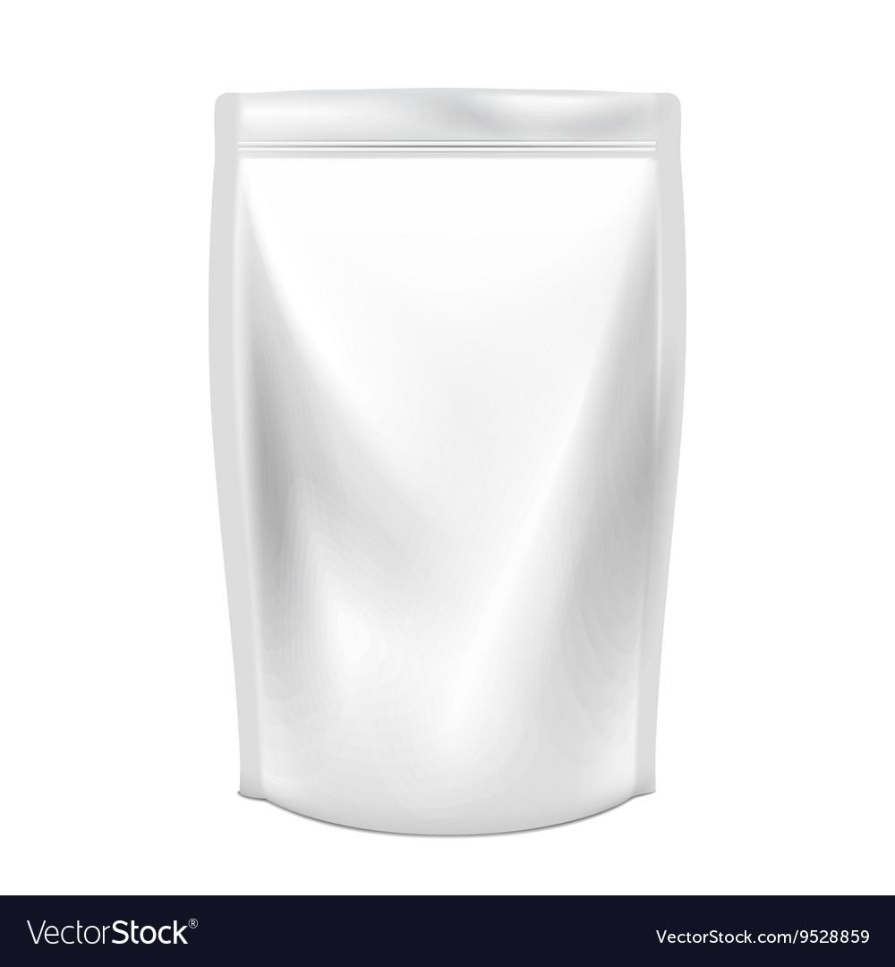 Doypack Food or drink Plastic pack vector image