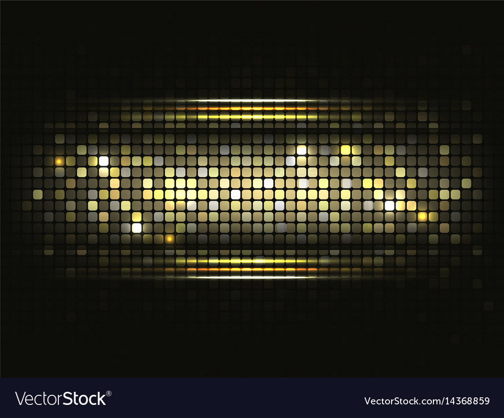 Gold shiny mosaic background