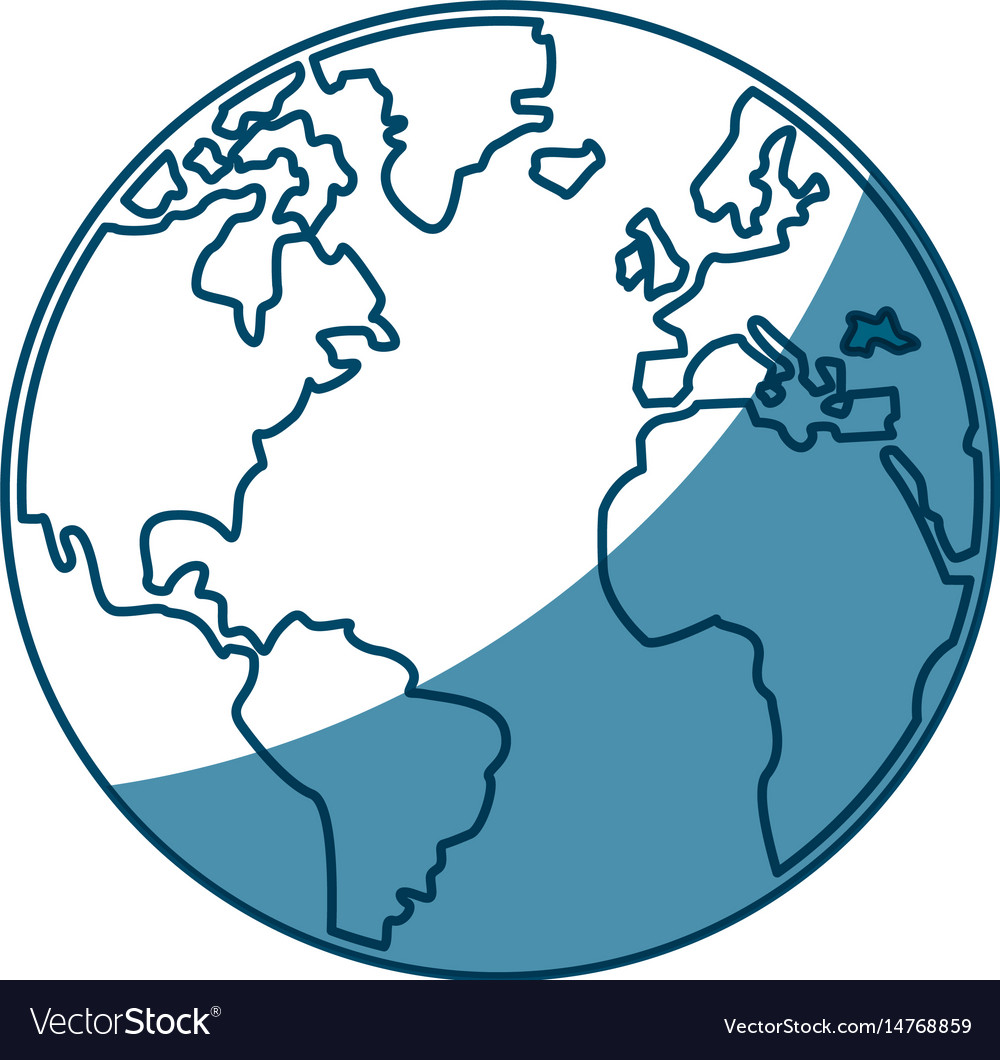 World map earth atlas cartography graphic
