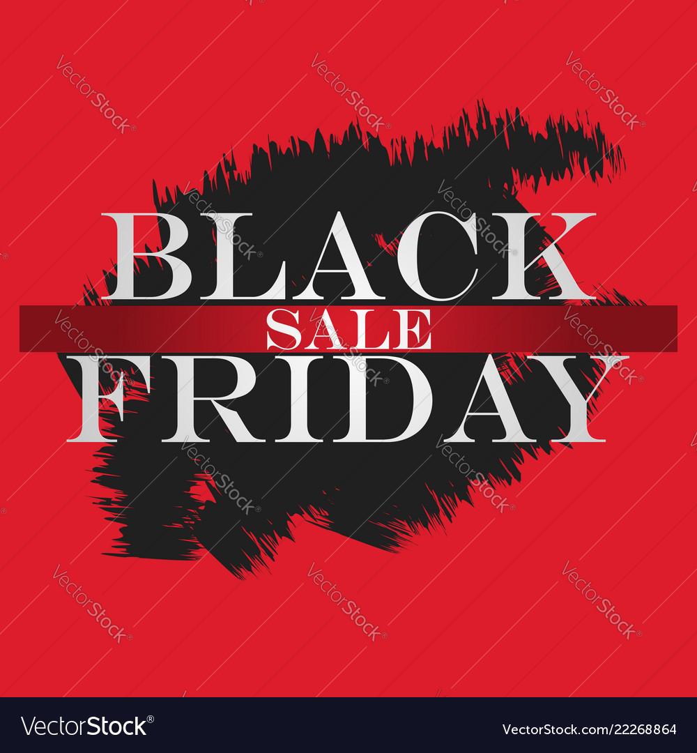 Black friday sale banner black friday design