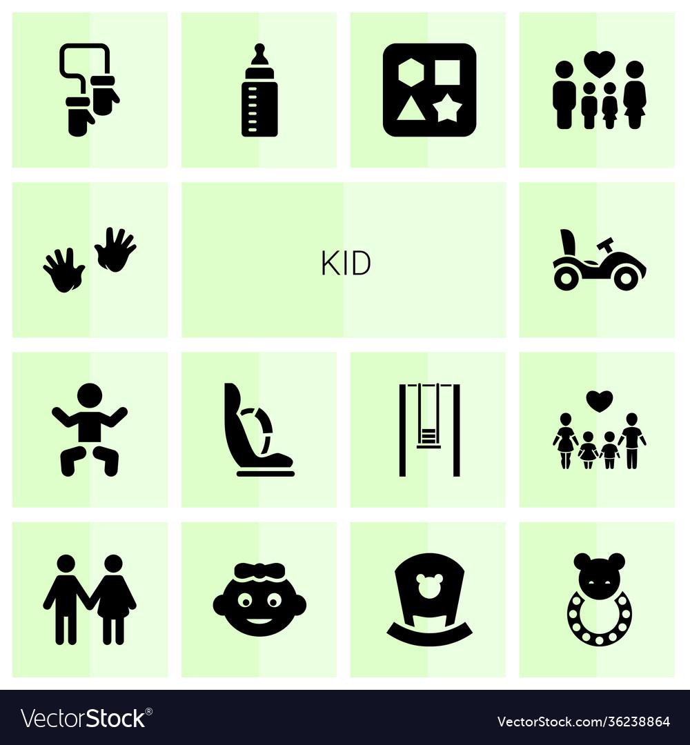 Kid icons