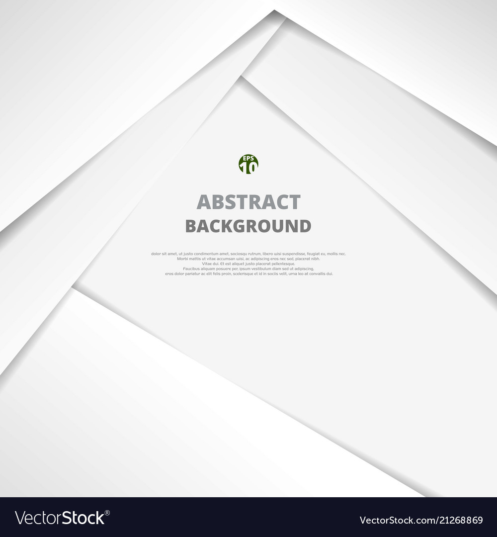 Clear white paper cut background