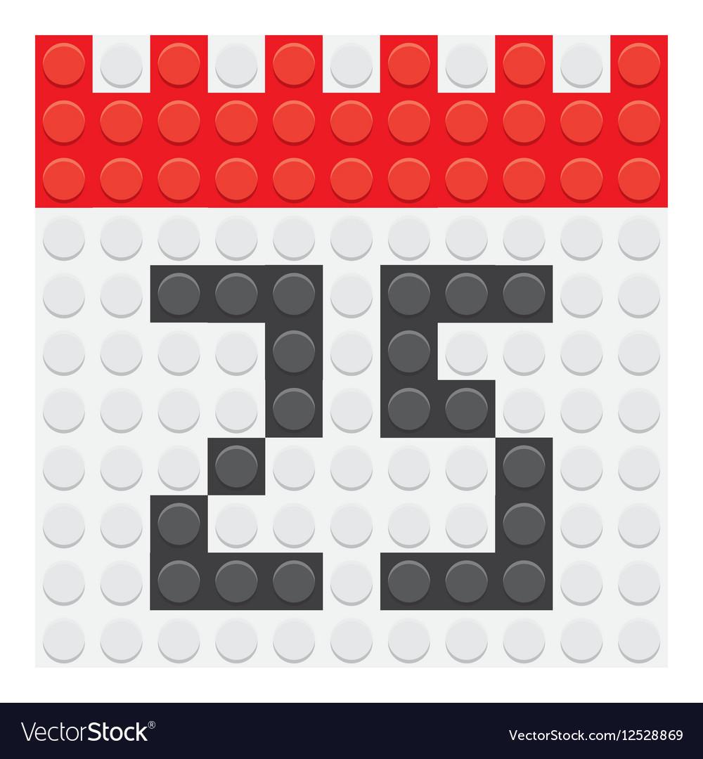 December 25 Calendar icon