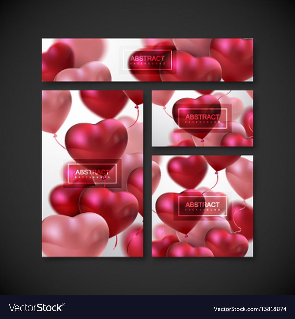 Balloon hearts