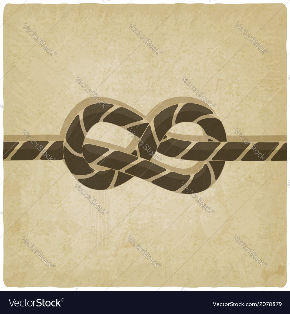 Marine knot background