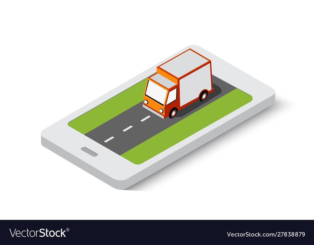 Online delivery transport transportation of
