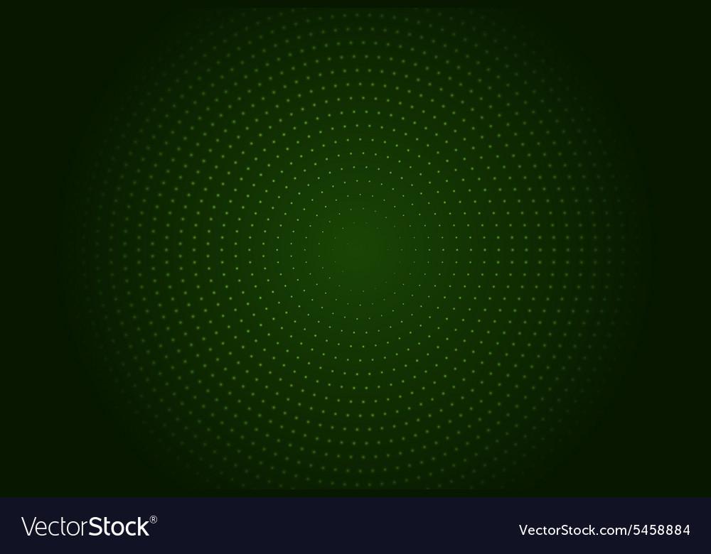 Abstract circle halftone