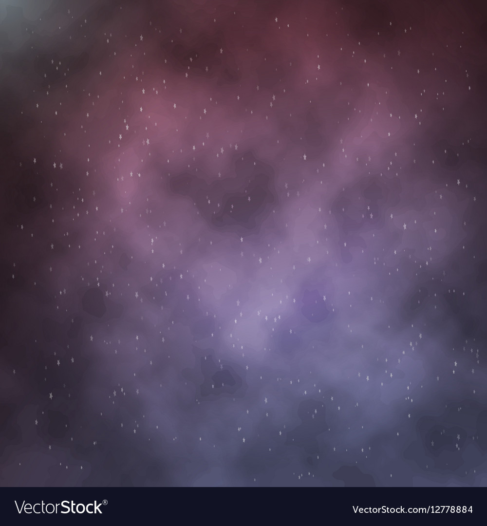 Clouds on Night Background vector image